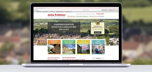 pallisters new website header montage